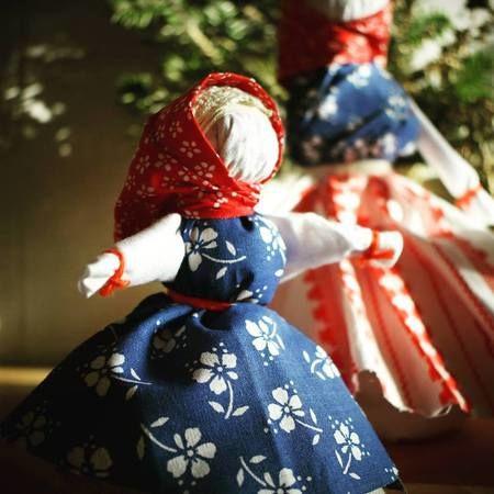 motanka panenka valašská tradiční